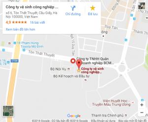 Liên hệ với công ty vệ sinh tại Hà Nội