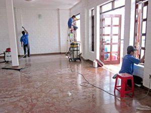 dịch vụ tổng vệ sinh sau xây dựng - công ty vệ sinh hà nội