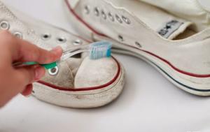mẹo làm sạch trắng giầy - công ty vệ sinh hà nội