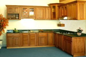 mẹo vệ sinh tủ bếp gỗ
