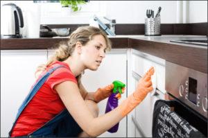 mẹo vệ sinh tủ bếp - công ty vệ sinh hà nội